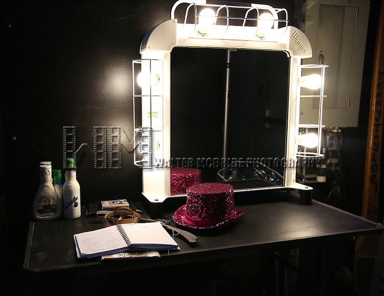 Backstage atmosphere during the Opening Night of Kristin Chenoweth - 'My Love Letter To Broadway'  at the Lunt-Fontanne Theatre on November 2, 2016 in New York City.