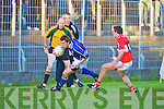 Dingle's Marc O Eibhin and Kerins O'Rahillys David Moran..