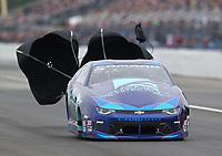 Mar 17, 2019; Gainesville, FL, USA; NHRA pro stock driver Shane Tucker during the Gatornationals at Gainesville Raceway. Mandatory Credit: Mark J. Rebilas-USA TODAY Sports
