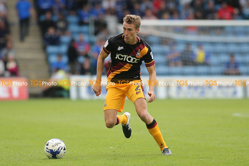 Stephen Darby of Bradford City in action during Gillingham vs Bradford City, Sky Bet EFL League 1 Football at the MEMS Priestfield Stadium on 10th September 2016
