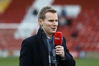 BT Sports presenter Darrell Currie during Woking vs Watford, Emirates FA Cup Football at The Laithwaite Community Stadium on 6th January 2019