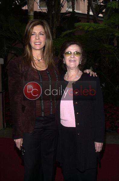Rita Wilson and mom Dorothy