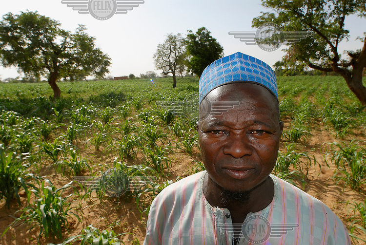 A local farmer tends to his plants at an IFAD-supported nursery. The International Fund for Agricultural Development (IFAD), a specialised UN agency established to finance agricultural projects in developing countries, runs several programmes that work to combine environmental protection with agricultural productivity in the sub-Saharan Sahel region.