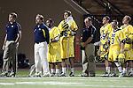 Orange, CA 02/28/09 -  John Paul Head Coach Michigan
