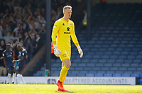 Frustration for Wieger Sietsma of MK Dons as he concedes once more during the Sky Bet League 1 match between Southend United and MK Dons at Roots Hall, Southend, England on 21 April 2018. Photo by Carlton Myrie.