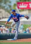 28 February 2019: New York Mets pitcher Tyler Bashlor on the mound during a Spring Training game against the St. Louis Cardinals at Roger Dean Stadium in Jupiter, Florida. The Mets defeated the Cardinals 3-2 in Grapefruit League play. Mandatory Credit: Ed Wolfstein Photo *** RAW (NEF) Image File Available ***