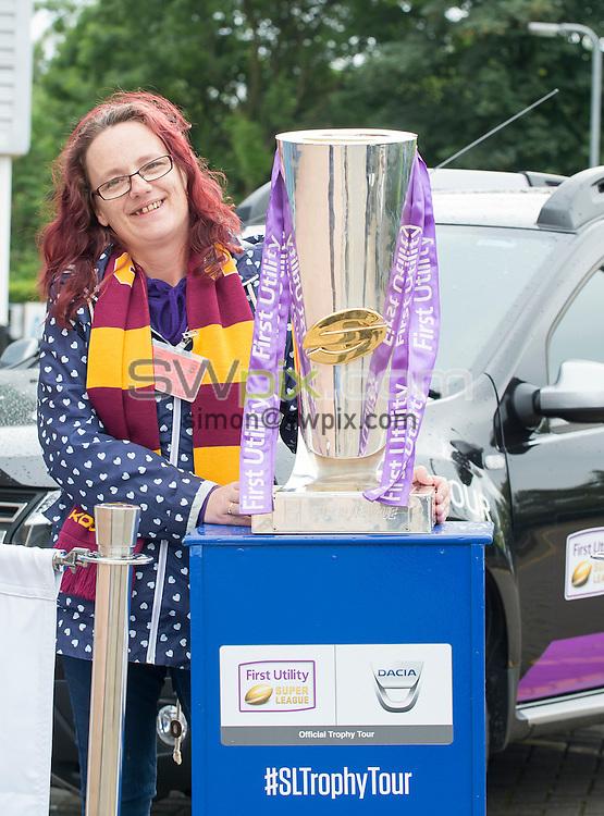 Picture by Allan McKenzie/SWpix.com - 30/06/16 - Rugby League - Dacia Trophy Tour - John Smiths Stadium, Huddersfield, England - Dacia Trophy Tour.