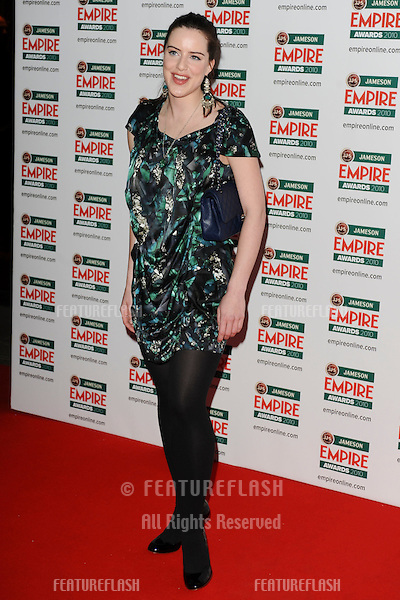 Michelle Ryan arriving for the Empire Film Awards 2010 at the Grosvenor House Hotel, London. 28/03/2010  Picture by: Steve Vas / Featureflash