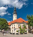 Zielona Góra (woj. lubuskie), 20.07.2013. Ratusz na Starym Rynku.