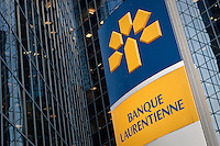 A Banque Laurentienne branch is pictured in Montreal Thursday October 25, 2012. Laurentian Bank of Canada, as it is branded in English, is a Schedule I bank in the province of Quebec.
