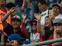 Aficionados mexicanos.<br /> Partido de beisbol de la Serie del Caribe con el encuentro entre los Alazanes de Gamma de Cuba contra los Criollos de Caguas de Puerto Rico en estadio de los Charros de Jalisco en Guadalajara, M&eacute;xico, Martes 6 feb 2018. <br /> (Foto: AP/Luis Gutierrez)