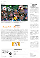 Die Wochenzeitung WOZ (Swiss weekly) on crisis-related civil activity in Hungary, part 9: Ruin buildings turn into ruin pubs, 2013.05.30. Photo: Martin Fejer