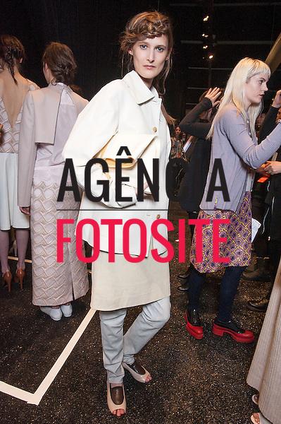 Nova Iorque, EUA &ndash; 02/2014 - Desfile de Creatures of the Wind durante a Semana de moda de Nova Iorque - Inverno 2014. <br /> Foto: FOTOSITE
