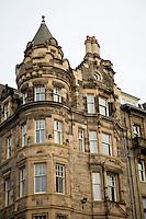 Along the Royal Mile, Edinburgh, Scotland