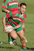 Waiuku halfback A. Murphy. Counties Manukau Premier Club Rugby, Pukekohe v Waiuku  played at the Colin Lawrie field, on the 3rd of 2006.Pukekohe won 36 - 14