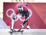 Dave Greszczyszyn (CAN). Skeleton training. Alpensia sliding centrePyeongchang2018 winter Olympics. Alpensia. Republic of Korea. 13/02/2018. ~ MANDATORY CREDIT Garry Bowden/SIPPA - NO UNAUTHORISED USE - +44 7837 394578