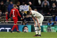 Harry Winks of Tottenham Hotspur looks despondent after  Tottenham Hotspur vs RB Leipzig, UEFA Champions League Football at Tottenham Hotspur Stadium on 19th February 2020