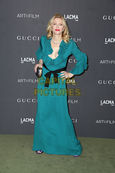 LOS ANGELES, CA - OCTOBER 29: Courtney Love attends the 2016 LACMA Art + Film Gala honoring Robert Irwin and Kathryn Bigelow presented by Gucci at LACMA on October 29, 2016 in Los Angeles, California.  <br /> CAP/MPI/PA<br /> &copy;PA/MPI/Capital Pictures