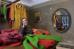Milano, Colomba Leddi nel suo showroom, Colomba Leddi in her showroom © Fulvia Farassino / Blackarchives