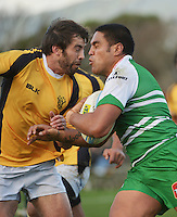 140801 ITM Cup Rugby Preseason - Wellington Lions v Manawatu Turbos