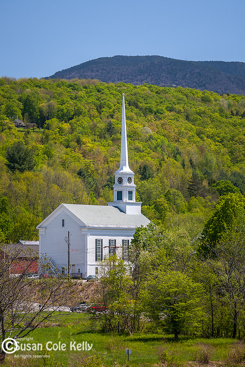 The Community Church in Stowe, VT, USA