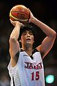 Takeuchi Joji (JPN), JULY 3rd, 2011 - Basketball : Basketball Japanese representative international friendly match 2011, between Japan 69-78 S Oliver Baskets Wuerzburg (GER) at 2nd Yoyogi Gymnasium, Tokyo, Japan. (Photo by Jun Tsukida/AFLO SPORT) [0003].
