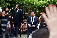 RIO DE JANEIRO,RJ, 28.10.2018 - MORO-RJ - O juiz federal Sergio Moro, da 13 Vara Federal de Curitiba, deixa a casa do presidente eleito Jair Messias Bolsonaro (PSL) na Barra da Tijuca, zona oeste do Rio de Janeiro, após reunião na manhã desta quarta-feira, 01(Foto: Vanessa Ataliba/Brazil Photo Press)