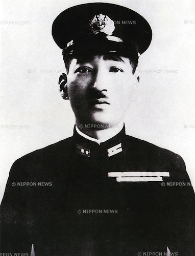 Undated - Mitsuo Fuchida was a Captain in the Imperial Japanese Navy Air Service and a Imperial Japanese Navy flying ace pilot before and during World War II. He is perhaps best known for leading the first air wave attacks on Pearl Harbor on 7 December 1941. Fuchida was responsible for the coordination of the entire aerial attack working under the overall fleet Vice Admiral Chuichi Nagumo.  (Photo by Kingendai Photo Library/AFLO)