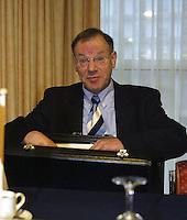 20031213, Rotterdam,  ALV, KNLTB, J.M. Hoppenbrouwers