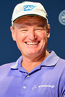 Ernie Els (RSA) during press conference during Tuesday's preview of the PGA Championship  at Quail Hollow in Charlotte, North Carolina. 8/8/2017.<br /> Picture: Golffile | Ken Murray<br /> <br /> <br /> All photo usage must carry mandatory copyright credit (&copy; Golffile | Ken Murray)