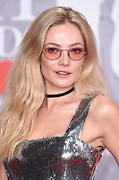 LONDON, UK. February 20, 2019: Clara Paget arriving for the BRIT Awards 2019 at the O2 Arena, London.<br /> Picture: Steve Vas/Featureflash<br /> *** EDITORIAL USE ONLY ***
