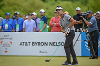 Kevin Na (USA) watches his tee shot on 1 during round 4 of the AT&T Byron Nelson, Trinity Forest Golf Club, at Dallas, Texas, USA. 5/20/2018.<br /> Picture: Golffile | Ken Murray<br /> <br /> All photo usage must carry mandatory copyright credit (© Golffile | Ken Murray)