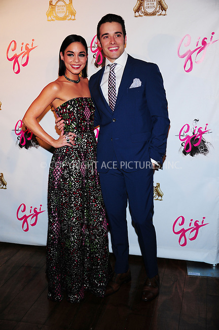 ACEPIXS.COM<br /> <br /> April 8 2015, Nedw York City<br /> <br /> Actors Vanessa Hudgens and Corey Cott at the 'Gigi' Broadway Opening Night After Party at the Tavern On The Green on April 8, 2015 in New York City.<br /> <br /> By Line: William Bernard/ACE Pictures<br /> <br /> ACE Pictures, Inc.<br /> www.acepixs.com<br /> Email: info@acepixs.com<br /> Tel: 646 769 0430