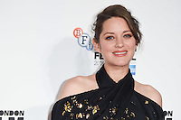 LONDON, UK. October 14, 2016: Marion Cotillard at the London Film Festival 2016 premiere of &quot;It's Only the End of the World&quot; at the Odeon Leicester Square, London.<br /> Picture: Steve Vas/Featureflash/SilverHub 0208 004 5359/ 07711 972644 Editors@silverhubmedia.com