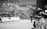 last few 100 meters up La Pierre-Saint-Martin<br /> <br /> stage 10: Tarbes - La Pierre-Saint-Martin (167km)<br /> 2015 Tour de France