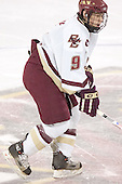 Nathan Gerbe - The Boston College Eagles completed a shutout sweep of the University of Vermont Catamounts on Saturday, January 21, 2006 by defeating Vermont 3-0 at Conte Forum in Chestnut Hill, MA.