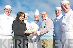IRISH NIGHT: Preparing the scones for the Irish food night at the ITT on 26th November, l-r: Emer Dwyer, Mary Rose Stafford (ITT), Emer Moriarty, John Murray, Kevin McCann (Chef), Anthony O'Shea, Sean Kerley.    Copyright Kerry's Eye 2008