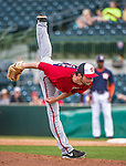 12 March 2014: Washington Nationals pitcher Jerry Blevins on the mound during a Spring Training game against the Houston Astros at Osceola County Stadium in Kissimmee, Florida. The Astros rallied in the bottom of the 9th to edge out the Nationals 10-9 in Grapefruit League play. Mandatory Credit: Ed Wolfstein Photo *** RAW (NEF) Image File Available ***