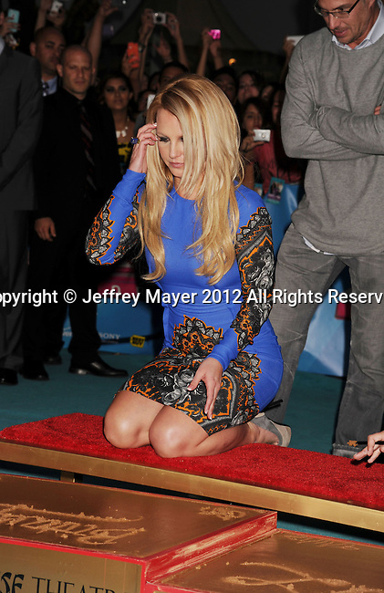 HOLLYWOOD, CA - SEPTEMBER 11: Britney Spears arrives at the 'The X Factor' Season 2 Premiere Party at Grauman's Chinese Theatre on September 11, 2012 in Hollywood, California.