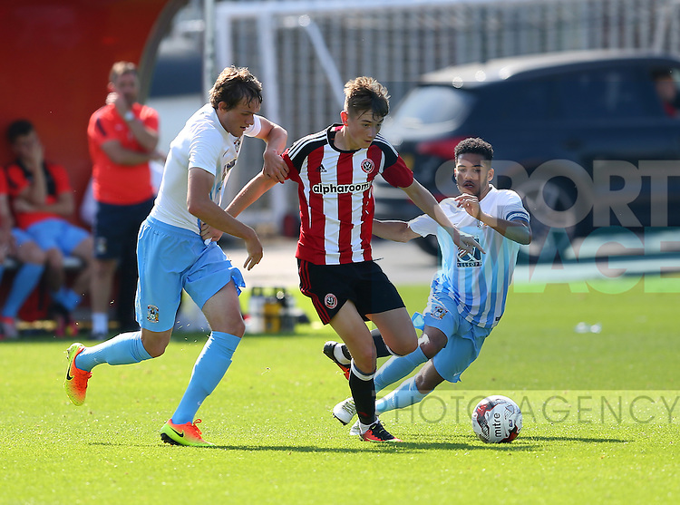 David Brooks of Sheffield Utd during the Professional Development League Two match at Shirebrook Training Complex, Sheffield. Picture date: September 13th, 2016. Pic Simon Bellis/Sportimage