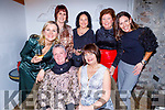 Enjoying the evening out in Bella Bia on Friday.<br /> Seated l to r: Mary Regan and Hilda Fitzmartin.<br /> Back l to r: Theresa O'Brien, Lisa O'Donoghue, Mary O'Sullivan, Mary Doody and Mary Kelliher.