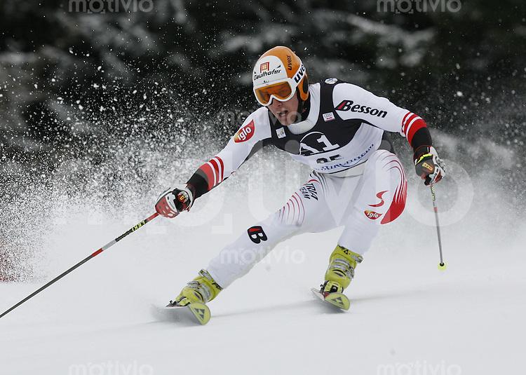 Ski Alpin Weltcup Riesenslalom in Bad Kleinkirchheim , AUT 08.12.07  Matthias Lanzinger (AUT)