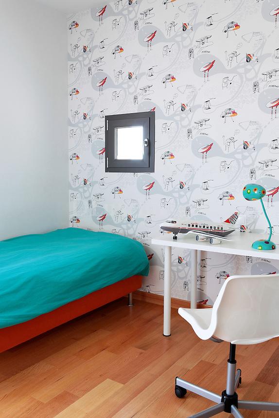 contemporary kids' room