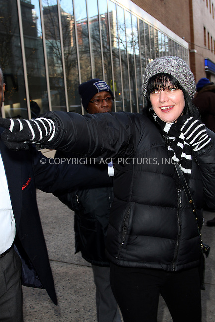 WWW.ACEPIXS.COM....February 4, 2013, New York City....Actress Pauley Perrette made an appearance at the Kelly show on February 4 2013 in New York City....By Line: Zelig Shaul/ACE Pictures......ACE Pictures, Inc...tel: 646 769 0430..Email: info@acepixs.com..www.acepixs.com