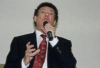 SAO PAULO, SP, 23 JULHO 2012 - ELEICOES 2012 - CELSO RUSSOMANO – Campos Machado  durante apoio de candidatura o recem-criado Partido Ecologico Nacional (PEN) a prefeitura de Sao Paulo na noite desta segunda-feira pelo presidente do PEN, o ex-deputado Adilson Barroso, no hotel Maksoud Plaza regiao da avenida paulista. FOTO: AMAURI NENH - BRAZIL PHOTO PRESS.
