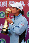 Lorena Ochoa during the Mission Hills Start Trophy at the Mission Hills Golf Resort on October 31, 2010 in Haikou, China. The Mission Hills Star Trophy is Asia's leading leisure lifestyle event and features Hollywood celebrities and international golf stars. Photo by Victor Fraile