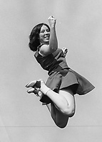 Rogers High School Cheerleader Sherri Caldwell 1975-1976.