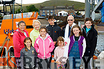 Blessing<br /> -----------<br /> Pictured on Brandon pier for the blessing of the boats last Sunday afternoon were, front L-R Hanna Kearney, Finola N&iacute; Chathasaigh, Alison O'Sullivan and &Eacute;abha N&iacute; Laighin, back L-R Elsie Moore, Shelia Sugrue, Seamus &Oacute; Laighin, Fr Eamonn MacCraobh with siobhan N&iacute; Laighin.