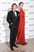 Leon and Yana Max<br /> at the Vogue 100: A Century of Style exhibition opening held in the National Portrait Gallery, London.<br /> <br /> <br /> ©Ash Knotek  D3080 09/02/2016