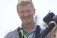 A happy Golffile photographer Ken Murray during Wednesday's Practice Day of the 117th U.S. Open Championship 2017 held at Erin Hills, Erin, Wisconsin, USA. 14th June 2017.<br /> Picture: Eoin Clarke | Golffile<br /> <br /> <br /> All photos usage must carry mandatory copyright credit (&copy; Golffile | Eoin Clarke)